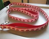Pink Ladybug 6 Foot Leash