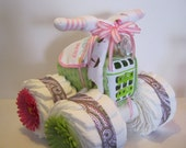 4 Wheeler Diaper Cake