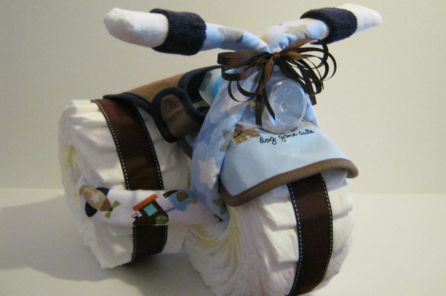 Tricycle Diaper Cake Etsy
