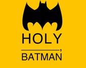Holy Batman 11x14 Poster Print