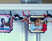 Mickey and/or Minnie Photo Banner - Month of Life Banner - Custom Themes Available