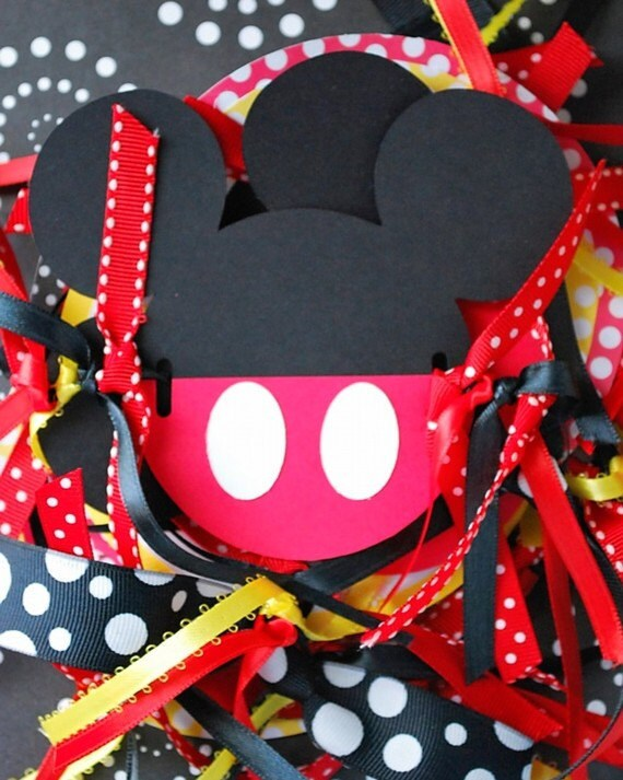 Custom Listing for Michele - Mickey Mouse Decor