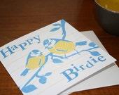 Birthday Card - Happy Birdie