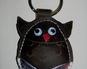 Whooty the Owl key chain