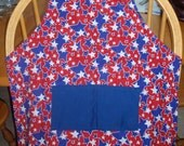 childs apron Patriotic YOUTH size apron