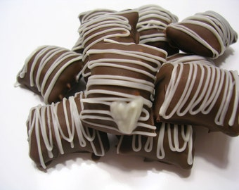 Chocolate Covered Peanut Butter Filled Pretzels 60pcs