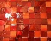 200 Valentine Mosaic Stained Glass Tiles Handcut 1/2 inch