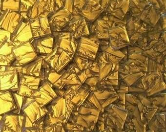 500 VAN GOGH MOSAIC TILES GOLD HANDCUT GLASS TILE