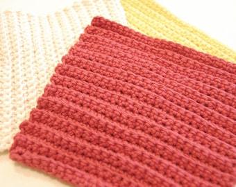 Cotton Dishcloths (includes 3)