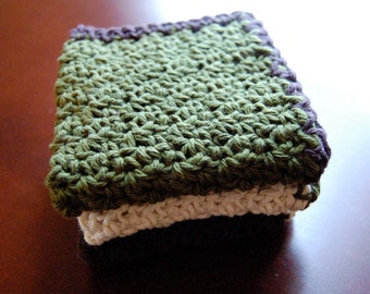 Cotton Washcloths (includes 3)