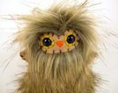 Bali the plush owl miniature brown mini stuffed animal