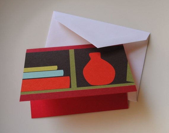 Bookends Card Set perfect for the book lover book club librarian or reader in your life set of 8 cards limited edition