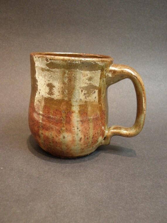 Large handmade ceramic mug