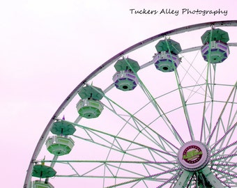 8x10 Ferris Wheel 2 - May 2011 at St Mary's Festival in Michigan
