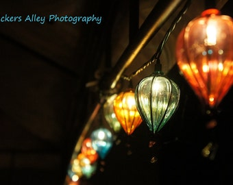 Lanterns in the evening 8x10 photo (choose one)