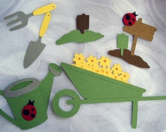 Garden Tools Die Cuts