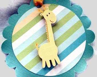 Giraffe Gift Tags Set of 3