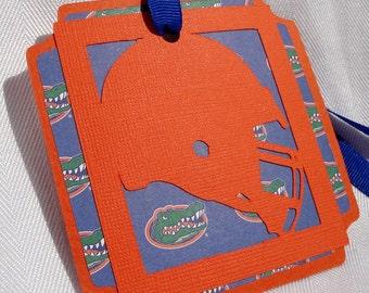 Florida Gators Football Tags Set of 4