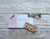 Nature Girl Clips Set of 3