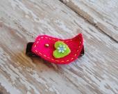 Pink Birdie Clip