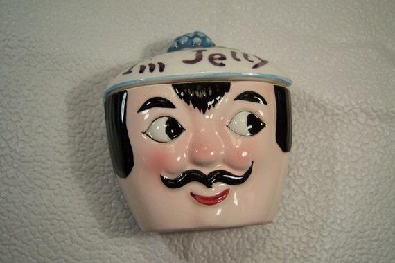 Vintage I'm Jelly Mustache Man
