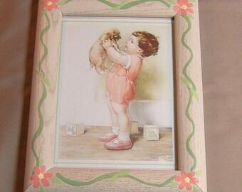 Nursery Wall Art Framed Prints by Bessie Pease Gutmann - Set of 2