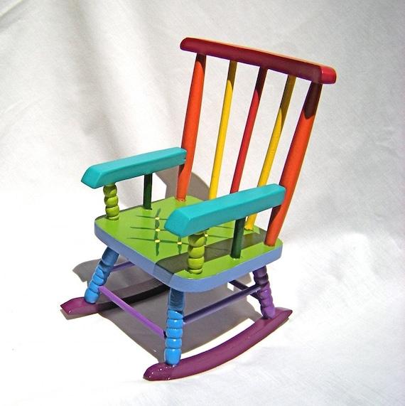 Doll Rocking Chair - Rainbow Dreams