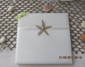 Starfish Wedding Guest Book