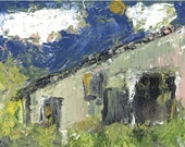Art Lover  - 'Michael's French Barn'  Painting in a Limited Edition print one of only 25. FREE postage