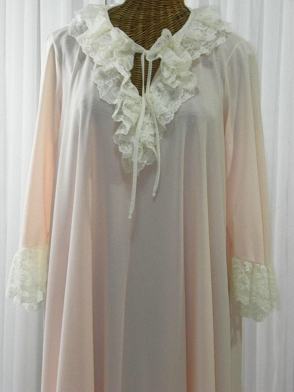 Womens Long Nightie Victorian Nightgown Sleepwear Robe