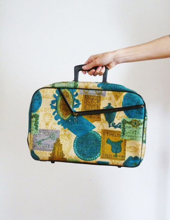 Vintage 1960s Overnight Stay Bag