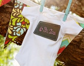 Label Me Chalkboard Onesie or Tee for Baby