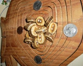 Hand Made Nice and Chunky Antler Buttons  One Dozen