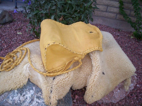 Hand Laced Deerskin fully lined in Leather Rockin' Bag