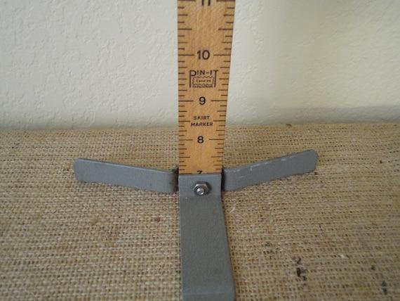 Vintage Pin It Dress, Skirt Hem Ruler on Stand