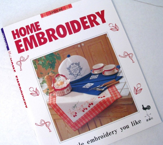 Embroidery Patterns, Ondori Book, Hand Embroidery patterns