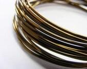 Craft Wire Non Tarnish Vintage Bronze 16 Gauge