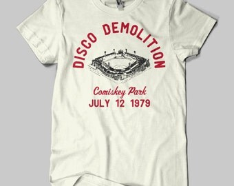 Disco Demolition Vintage/Retro White Sox T-Shirt