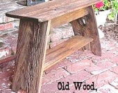 """MiLKiNG STOOL / BENCH - FREE SHiPPiNG - Country Primitive - Simple 18"""" Tall - 20""""x 11"""" Seat - Patio-Porch-Garden-Mud Room-Bench - See Dtails"""
