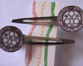 Halo of the Sun Barrettes - Reserved