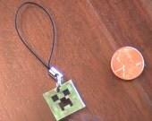 MineCraft Creeper Cell Phone Charm