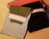 Custom - Quotable Kindle Nook ereader cover/sleeve - repurposed wool