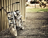The old bike - 5x7 Signed Fine Art Photograph Matted