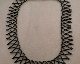 Black Collar Neclace