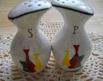 Vintage Carafe Salt and Pepper Shakers