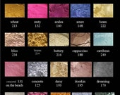 Vain Cosmetics Pigment  Mineral Eye Shadow   Single  1.25  grams  Size  Choose 5 Colors