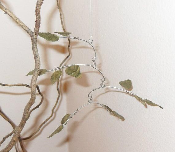 Mini Rustling Leaves Mobile
