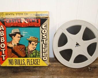 Abbott and Costello in No Bulls Please 8mm movie