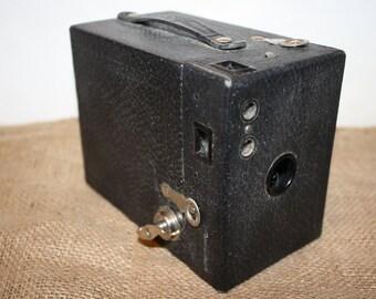 Vintage Kodak No. 2 Cartridge Hawk-Eye Model B Box Camera