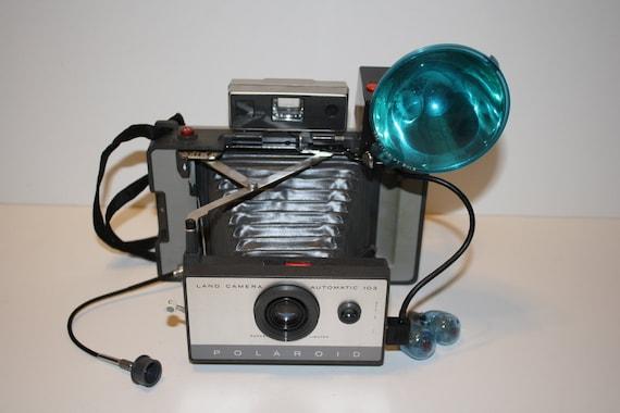 Polaroid 103 Land Camera with flash